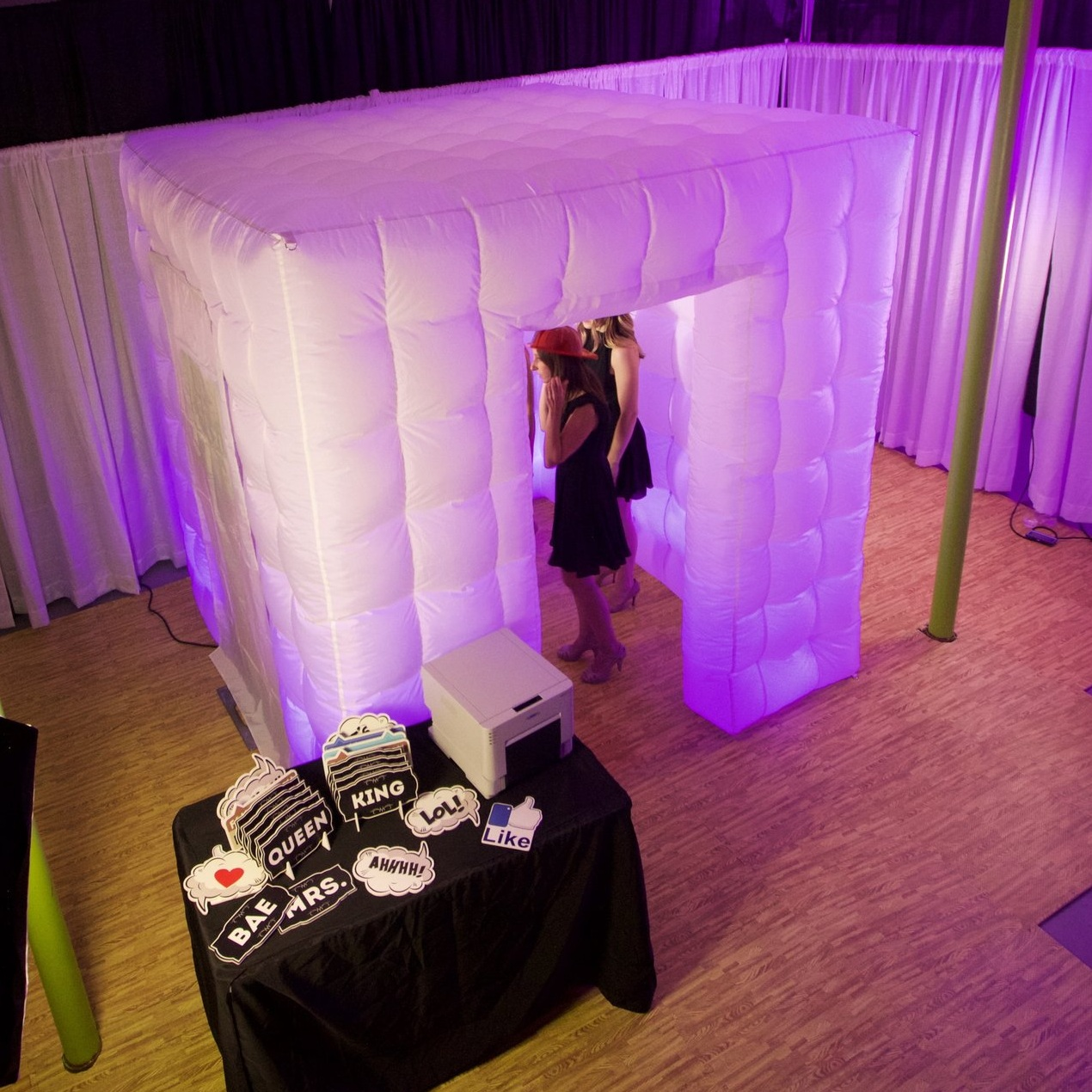 The Inflatable Booth Enclosure