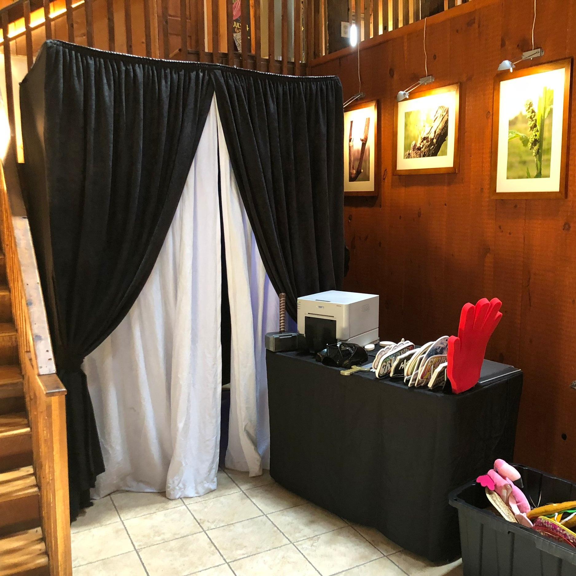 The Original Enclosed Tuxedo Booth Enclosure