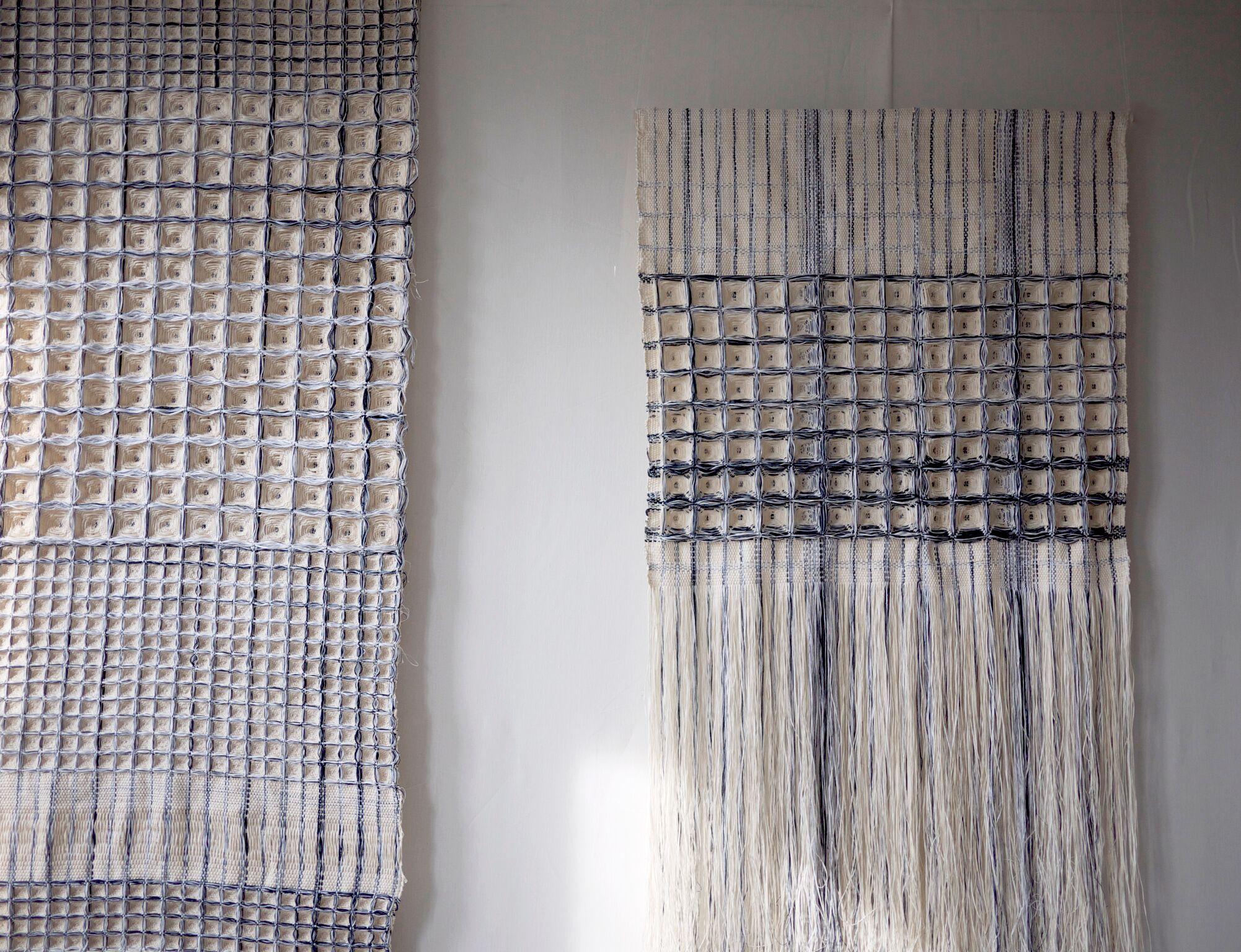 Blueprint Series, Hiroko Takeda, 2014-2015, NY Studio, various, mixed nautral fibers 3.jpg