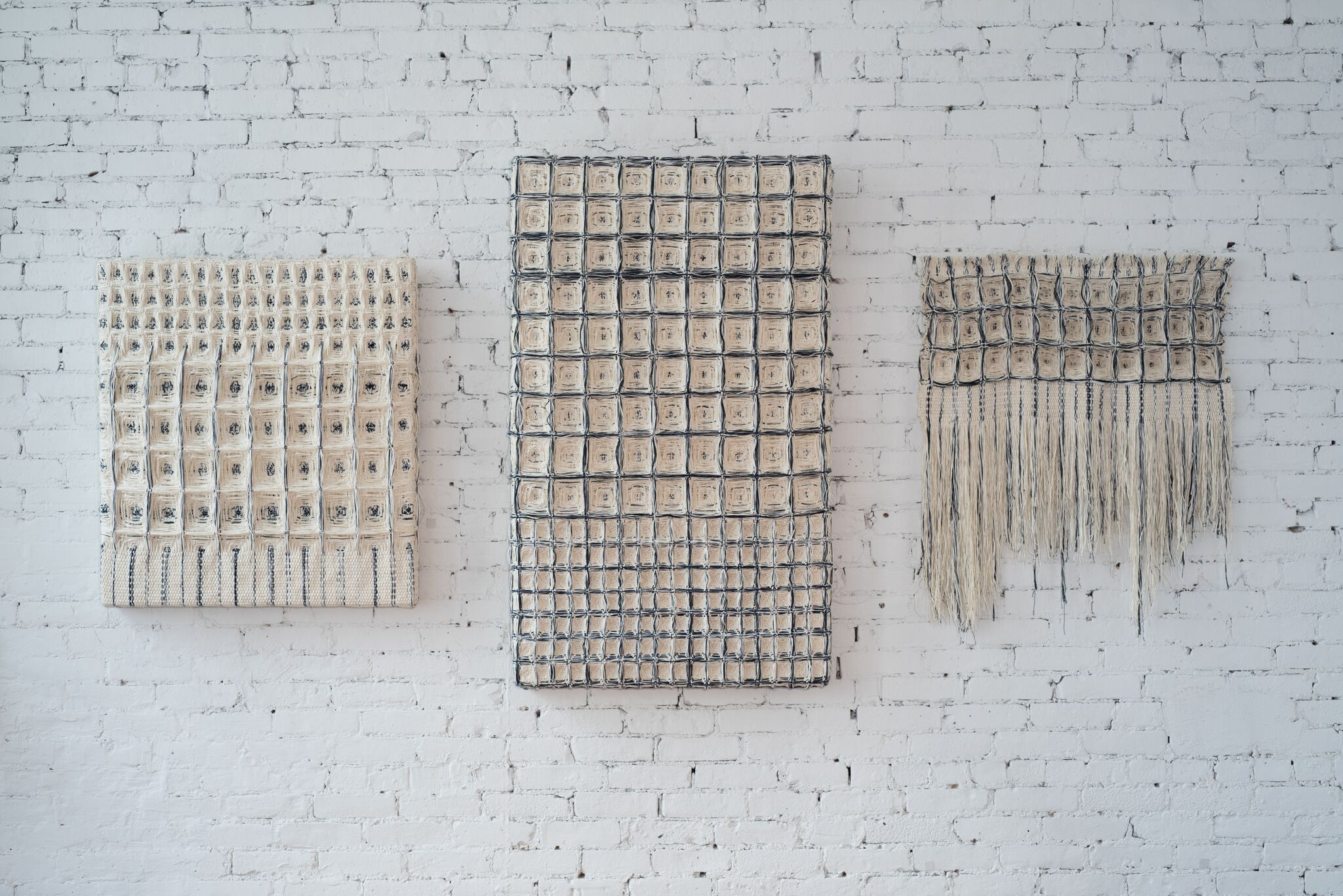 Blueprint Series, Hiroko Takeda, 2014-2015, NY Studio, various, mixed nautral fibers 2.jpg
