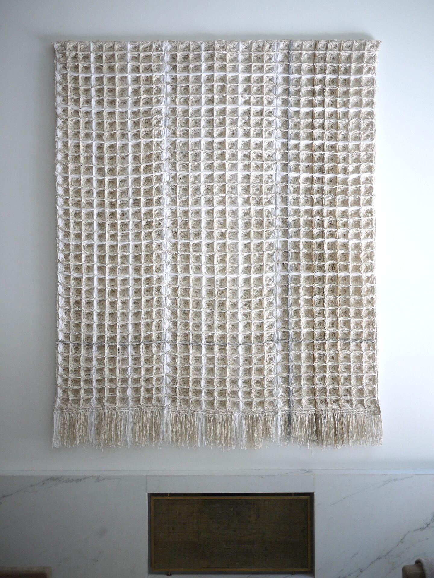 Bridge 397, Hiroko Takeda, 2015, NY Studio, 100%22hx 80%22w, mixed natural fibers.jpg