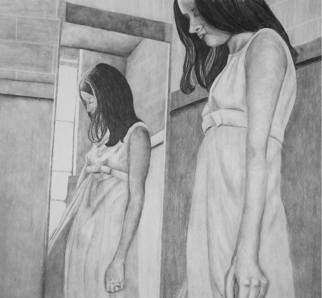 W - Reflection, Pencil Drawing - 2007.jpg