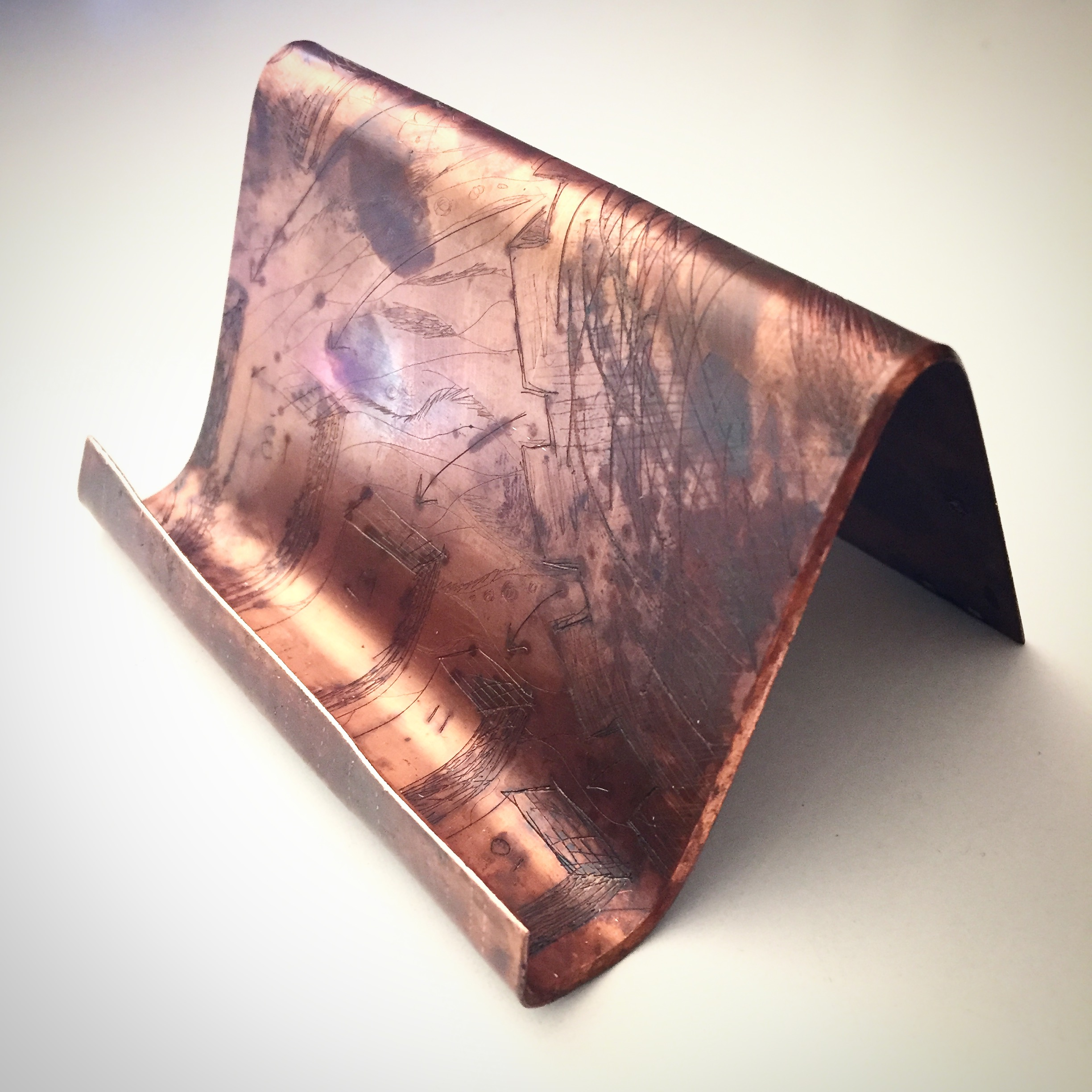 Business Card Holder - 2016CopperNFS