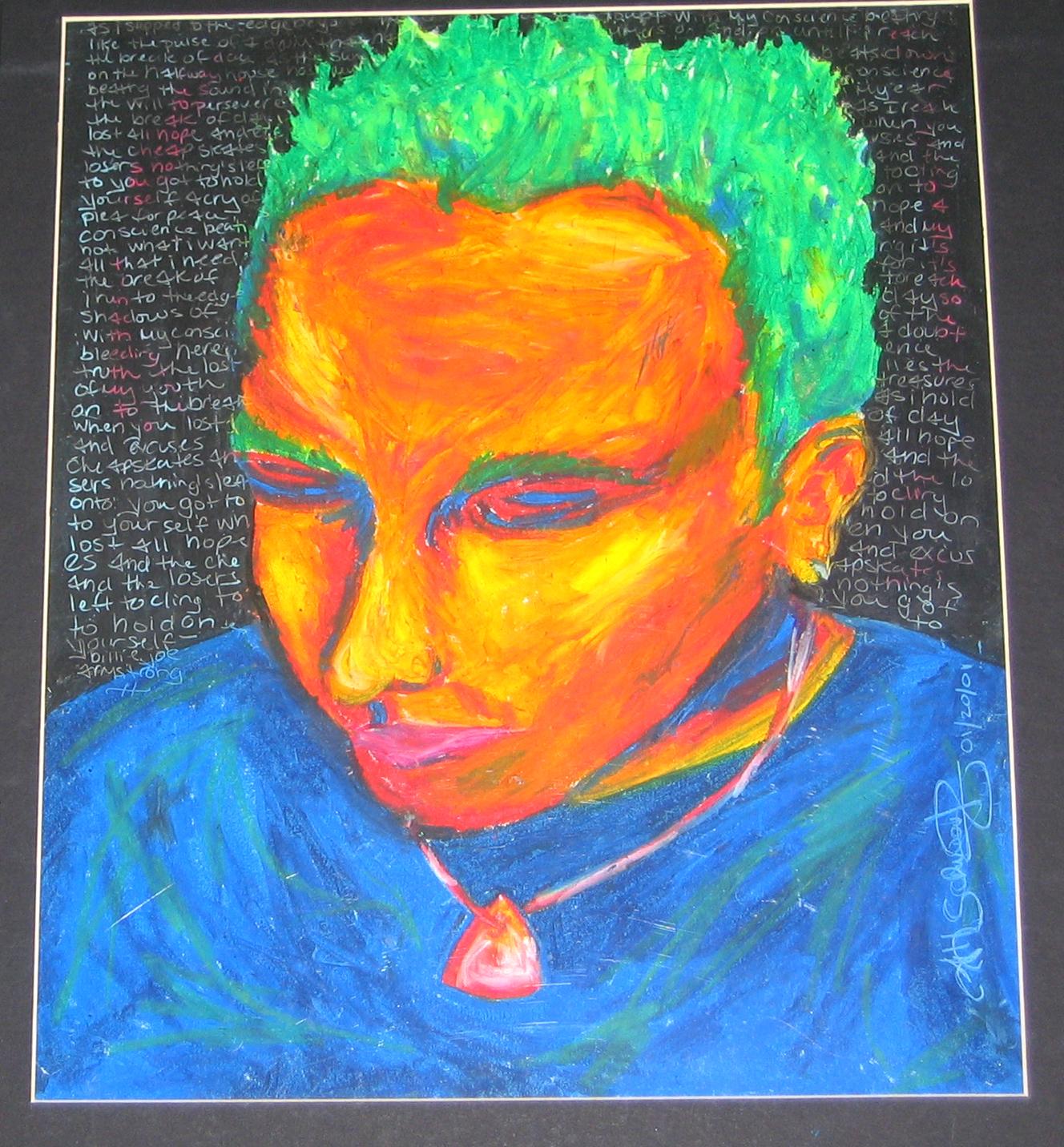 2004 // Central Michigan University Scholarship Winners Exhibition - Mt. Pleasant, MIOil Pastel Portrait, LeftOil Painting, Not pictured