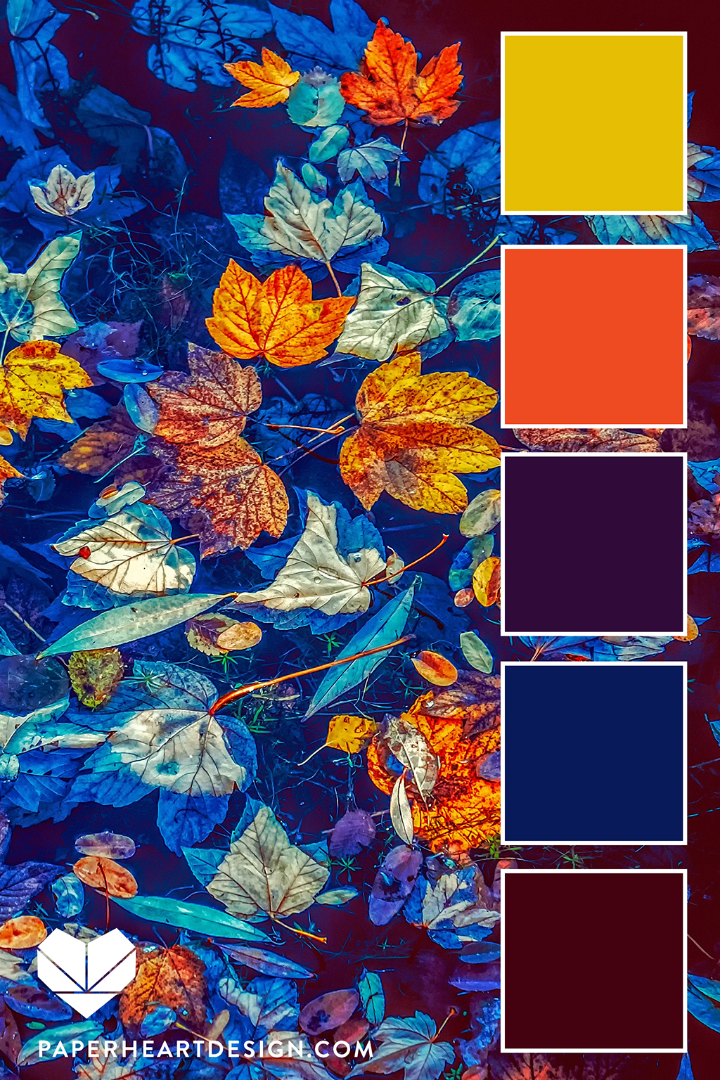 Jewel tones in fall mixed with warm oranges and yellows are a beautiful combination. There are so many gorgeous hues this tie of year.