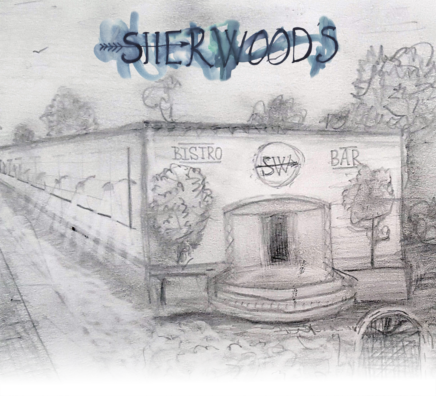 Drawing of SHERWOOD's - Opening Summer 2016