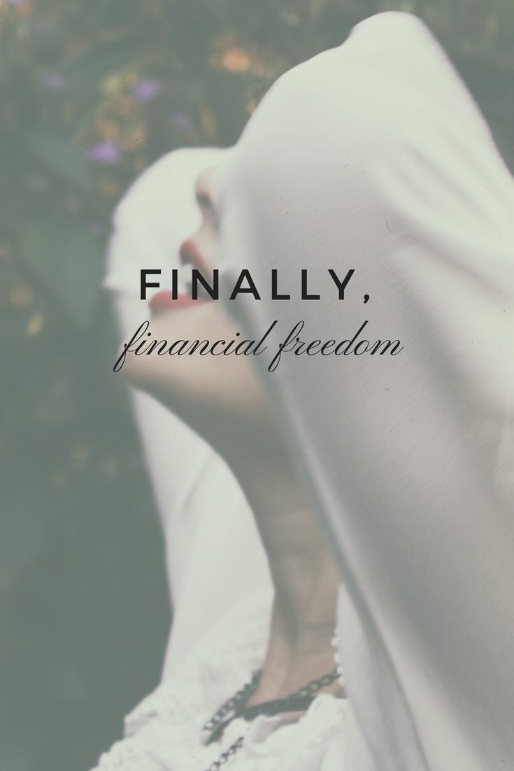 Financial freedom in a single word.