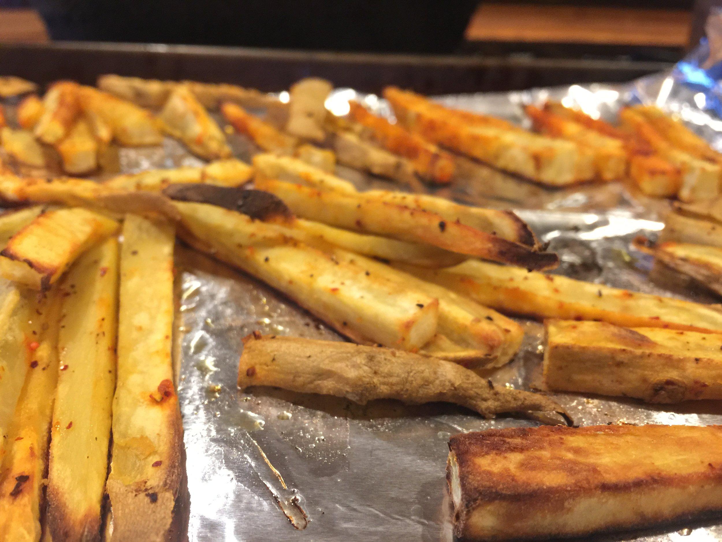 Espillette Sweet Potato Frites