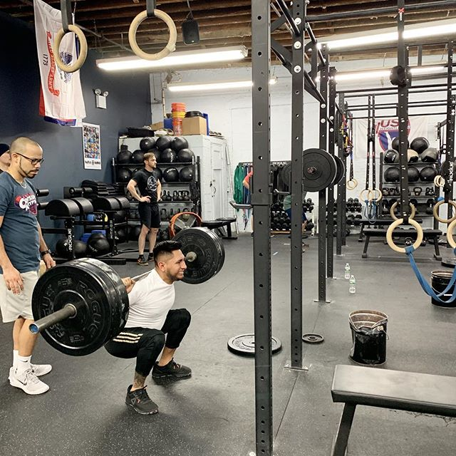 day one!  #ridgewood #bushwick #glendale #bedstuy #crossfit #crossfitter #crossfitgames #crossfitcommunity  #crossfitlifestyle #crossfitters #crossfitfamily #fitspo #fitfam #health #fitness #fit #workoutmotivation #healthylifestyle #workout #gymshark #sport #gym #muscle #mobility #training #nopainnogain #fitnessaddict #power #lift #fitnessgoals