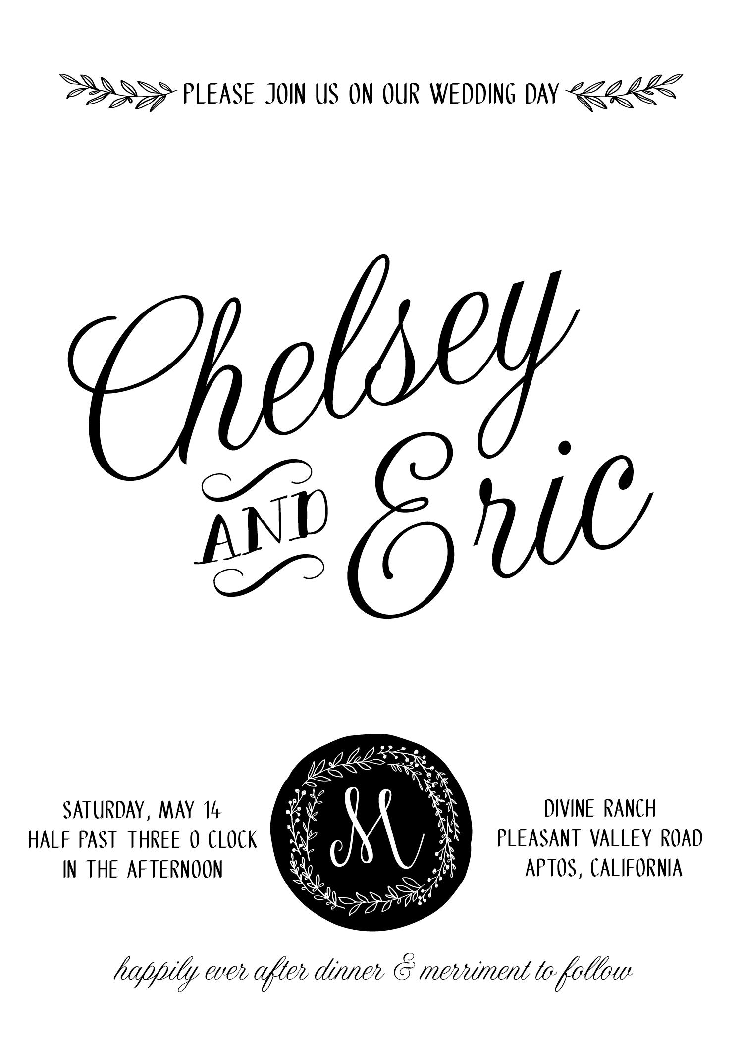 WEDDING  INVITATION + EVENT PLANNING