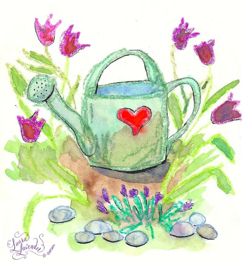 laura lavender illustration