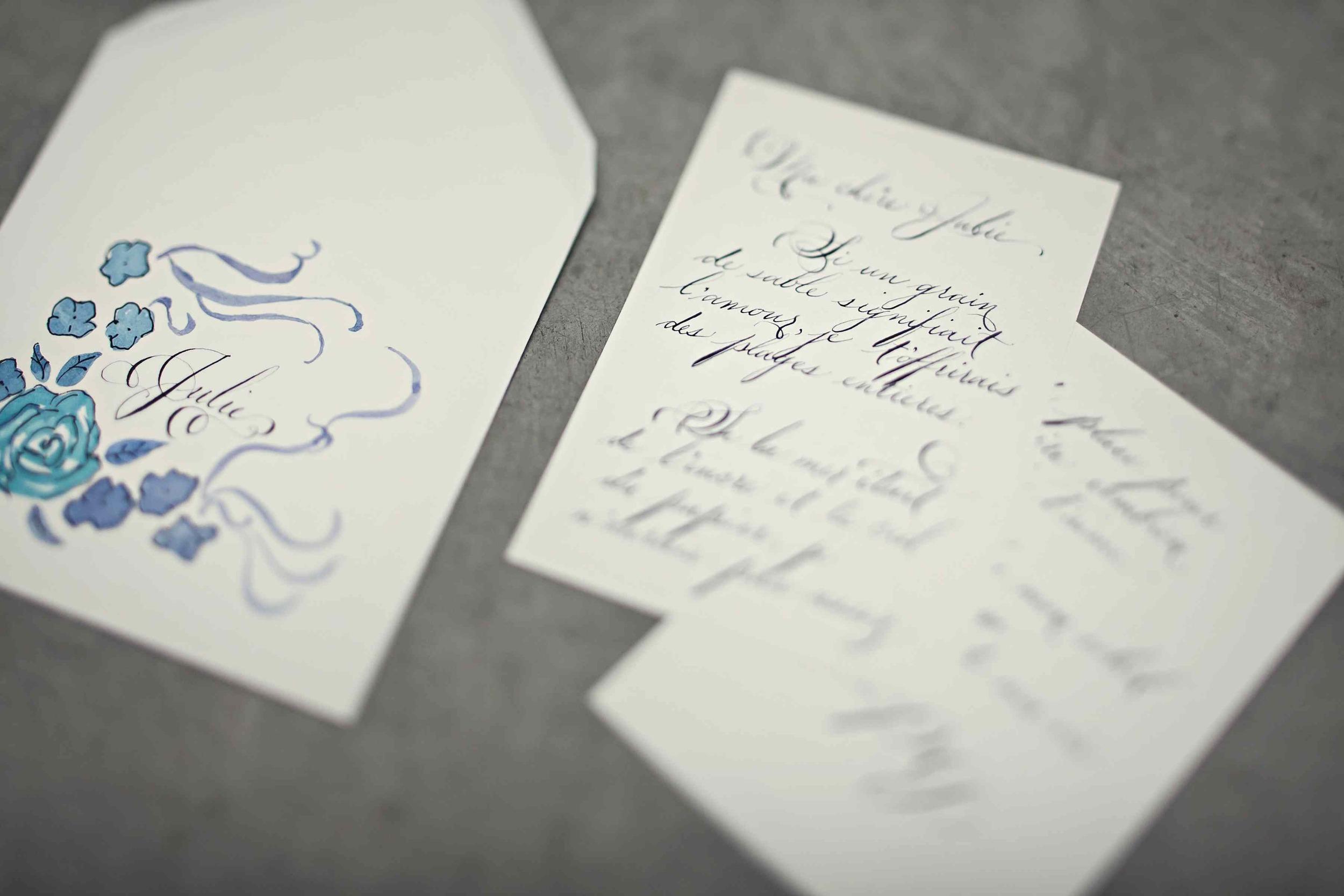 calligraphy love letter service victoria bc laura lavender calligraphy