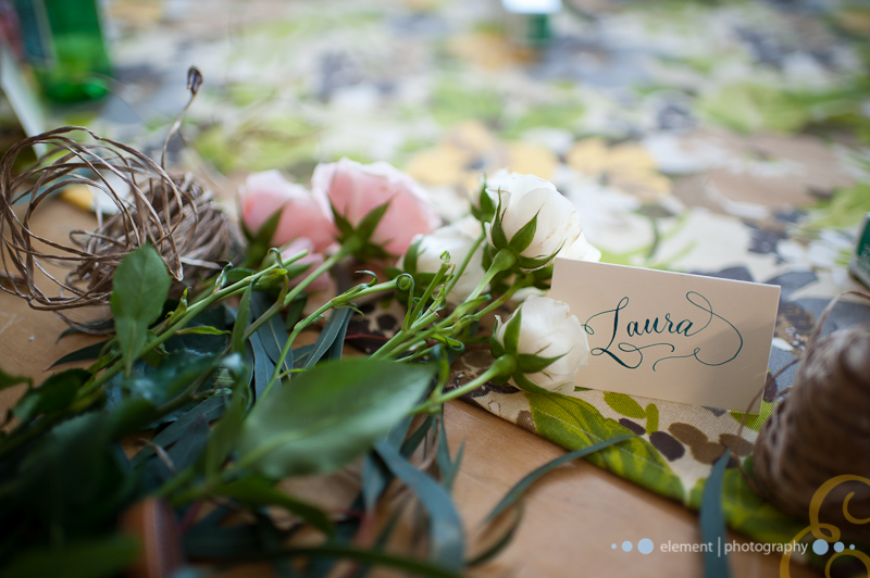 FloralCrown_ place card