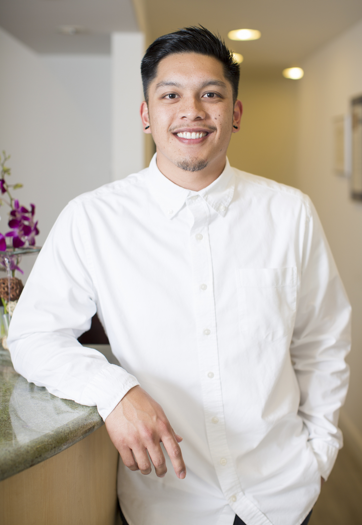 Mark Yanga, Registered Dental Assistant and Extended Functions at Nice Teeth Dental in San Leandro, California.