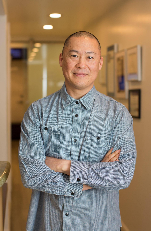 Jason Chen, DDS, at Nice Teeth Dental in San Leandro, California.
