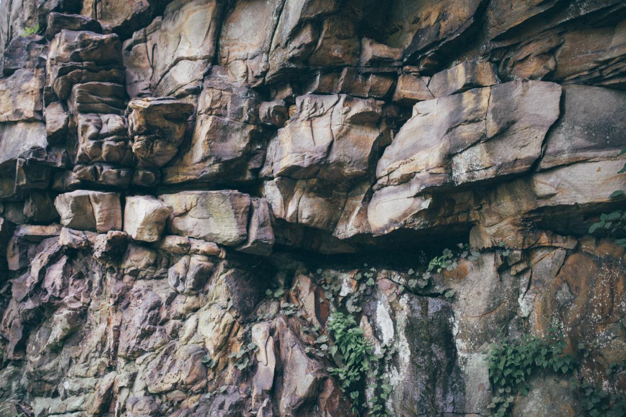 saw some rocks in georgia