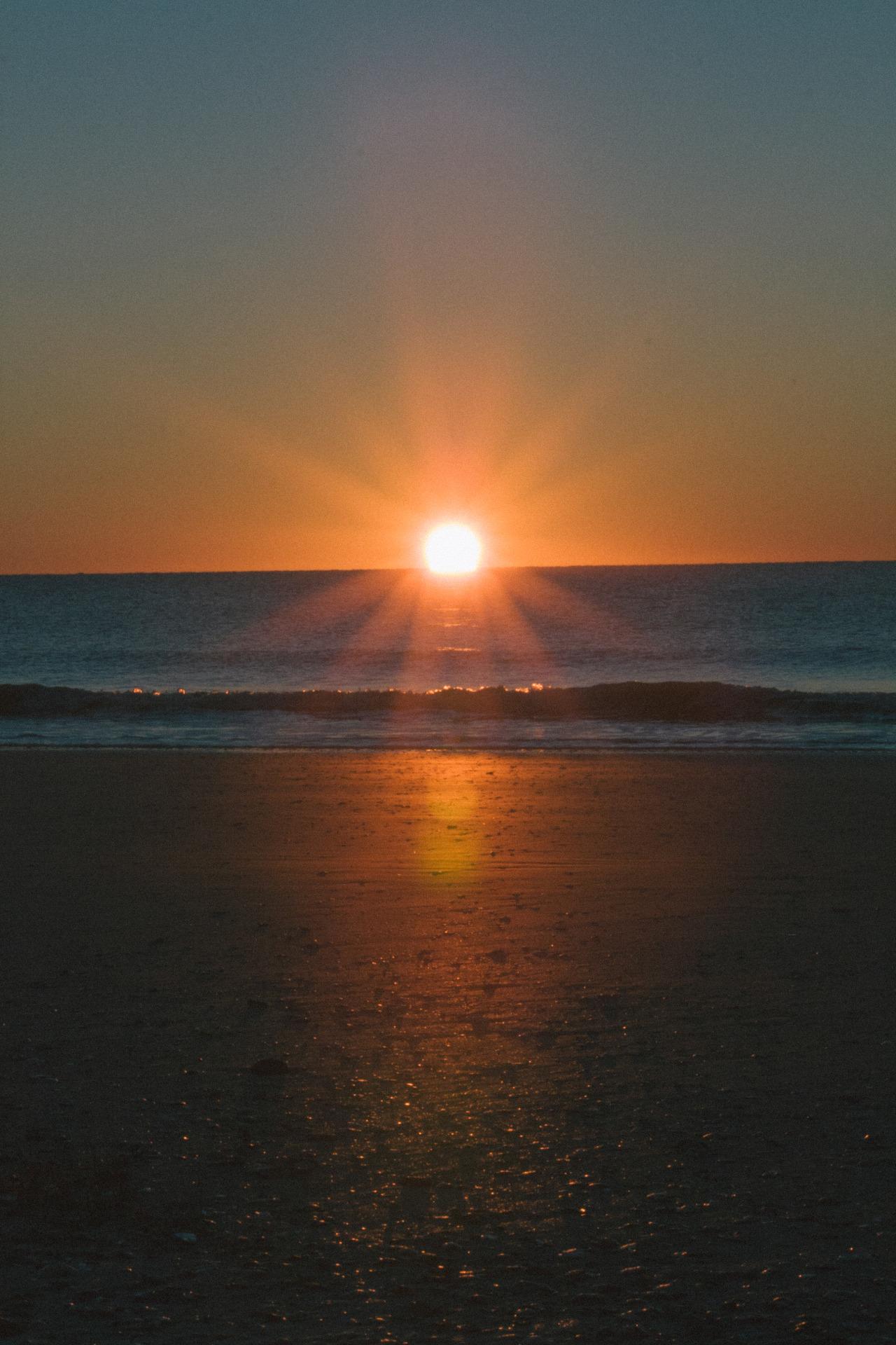 Sunburst with a dash of grain