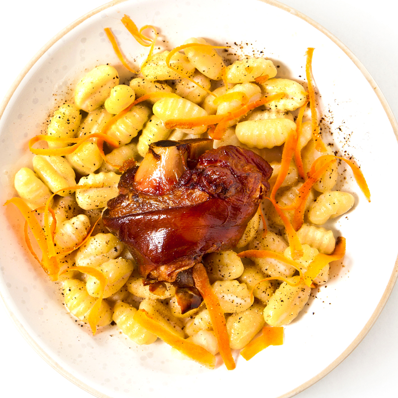 Gnocchi makes a perfect base for this savory dish!