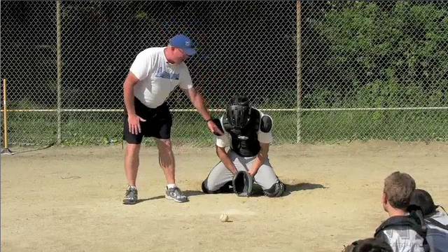 BLOCKING OFF-SPEED PITCHES