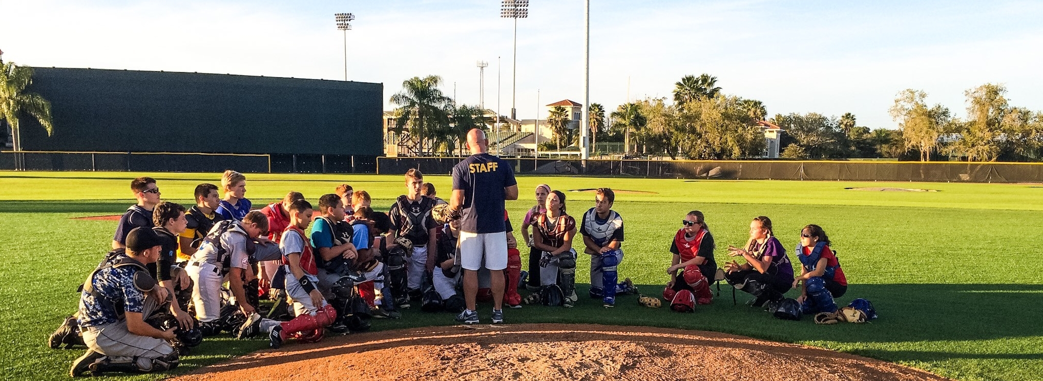 - From the months of October through March, TCC travels the country running two and three-day camps for catchers ages 8-18. TCC has run programs in 23 States and Puerto Rico!