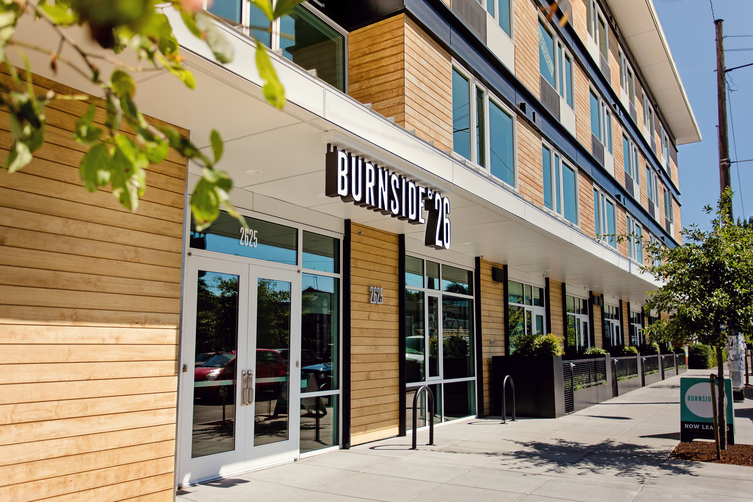 Name:    Burnside26     Location:   2625 E Burnside St    Type:  135-Unit Mixed-Use Multifamily   Completed:  2014