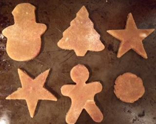 Holiday Spiced Sugar Cookies….ready for the oven!