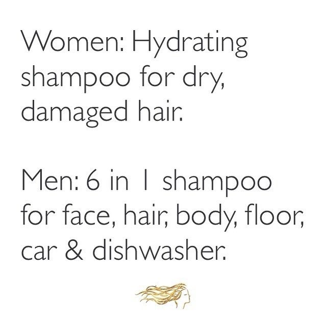 So true! That is why us ladies always have to have our own shampoo and conditioner! We are loving hydrate.me wash and rinse by @love_kevin_murphy. These products replenish hair with much needed moisture to restore a healthy GLOW to parched locks✨ Come see us and try it out!💫 . . . #glowblo #glowblotique #hydratedhair #women #hair #beauty #hairinspo #blowdrybar #blowoutbar #blowdrybarpittsburgh #pittsburghsalon #412 #sewickley #sewickleysalon #exploresewickley #hairproducts #healthyhair #lovekm
