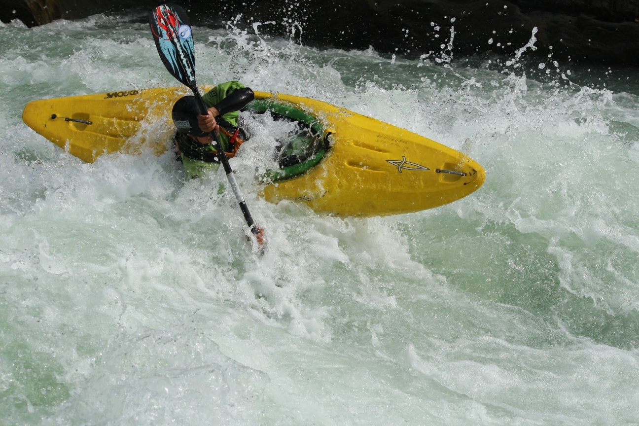 Amit Magar - Amit Magar is a white water kayaker from Nepal. He was nominated as the best upcoming paddler at Ganga Kayak Festival 2018.