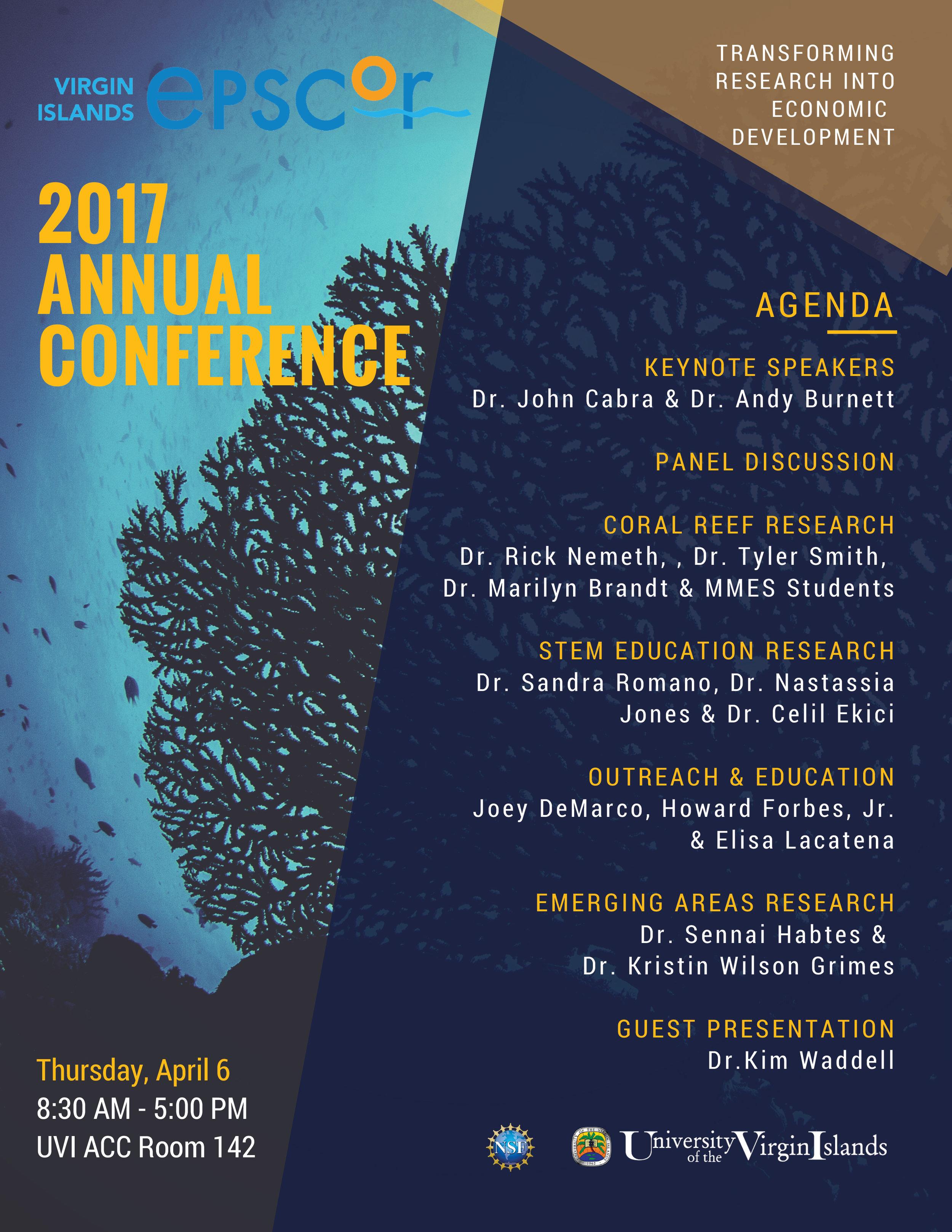 2017 Annual Conference Agenda