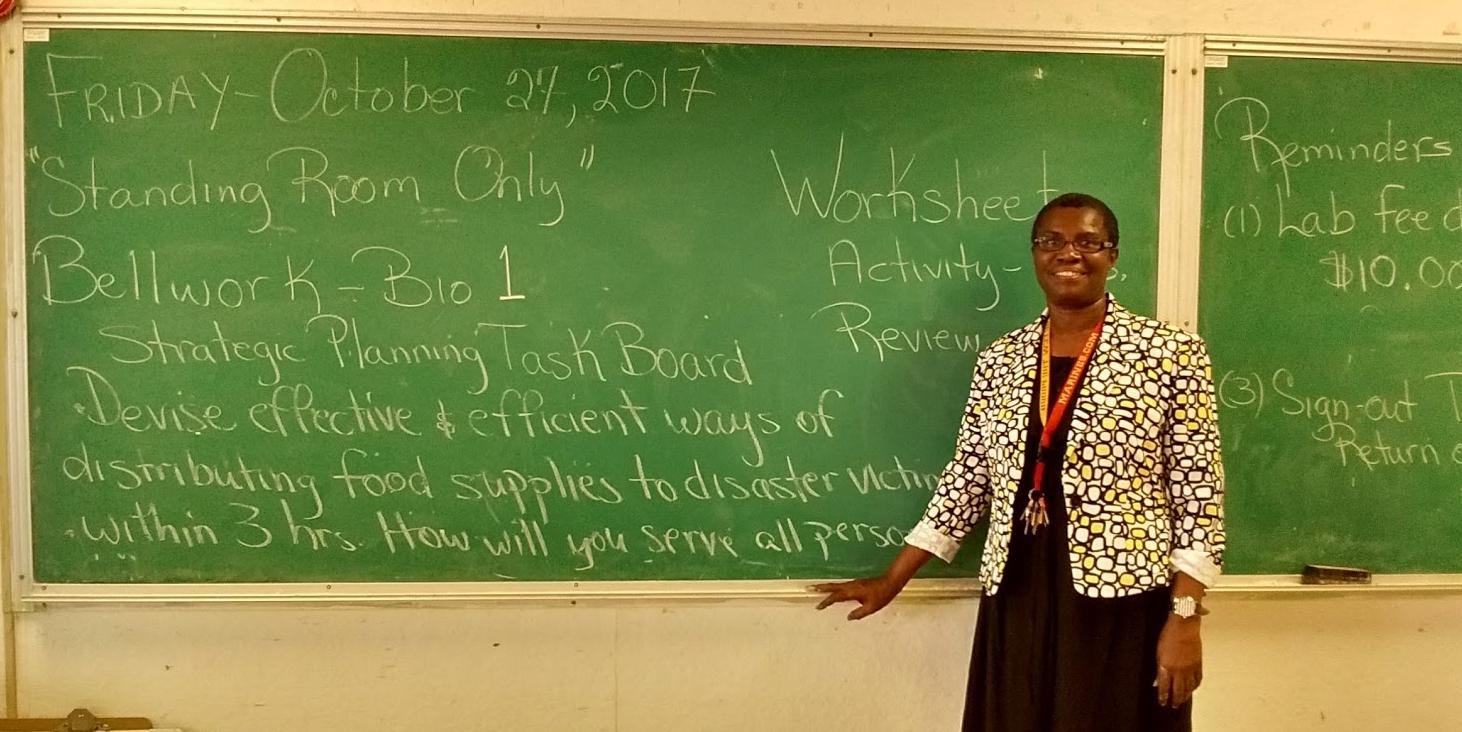 Ms. Michealrose Ravalier, Ivanna Eudora Kean High School, St. Thomas