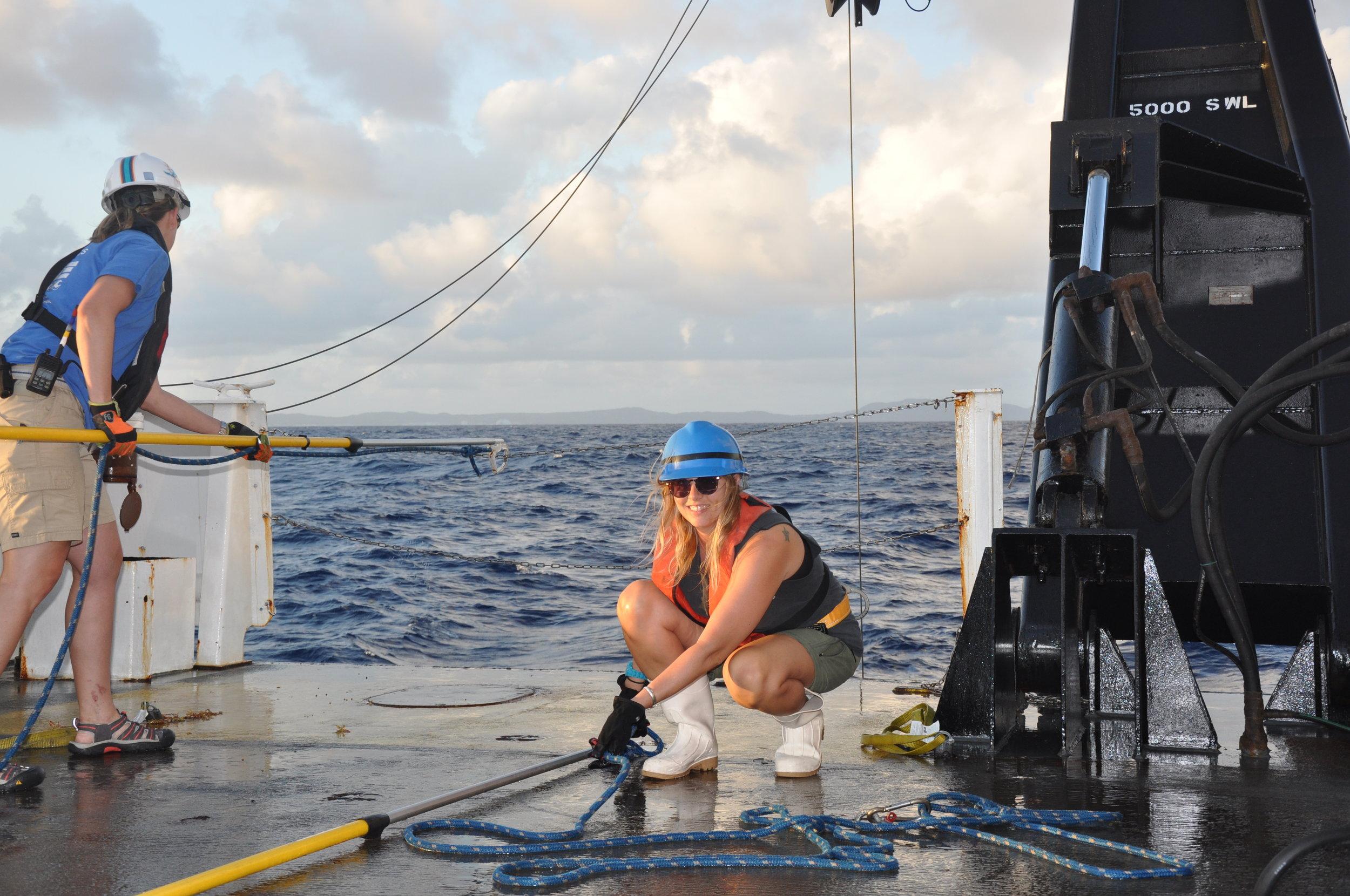 Oceanography Field and Lab Technician, Vanessa McKague