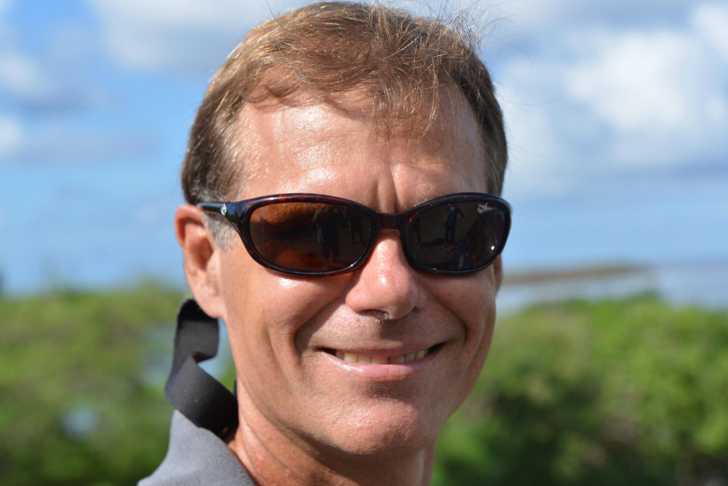Dr. Rick Nemeth is VI-EPSCoR's Senior Scientist and a Research Professor at UVI.