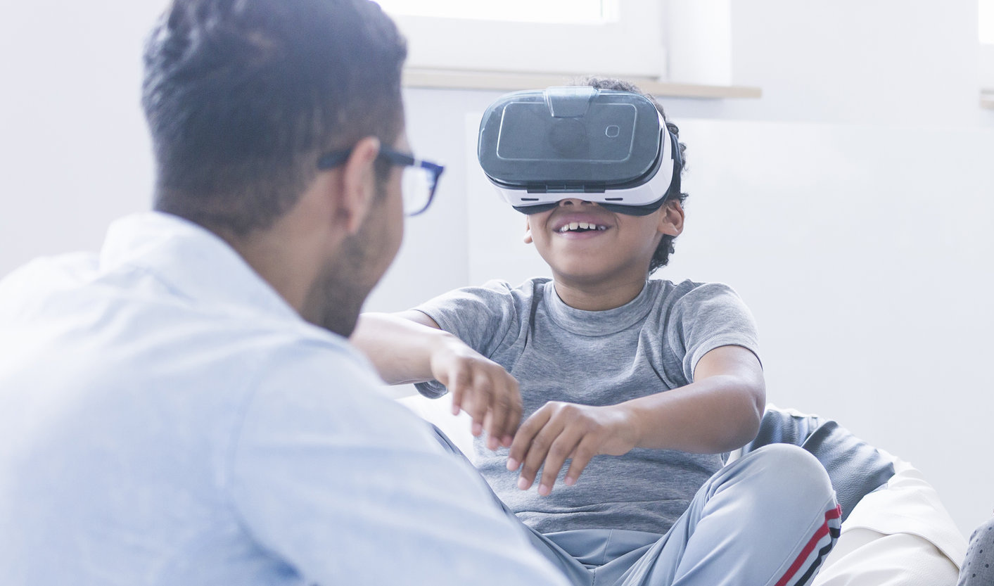 Virtual reality goggles are finding their way into classrooms.