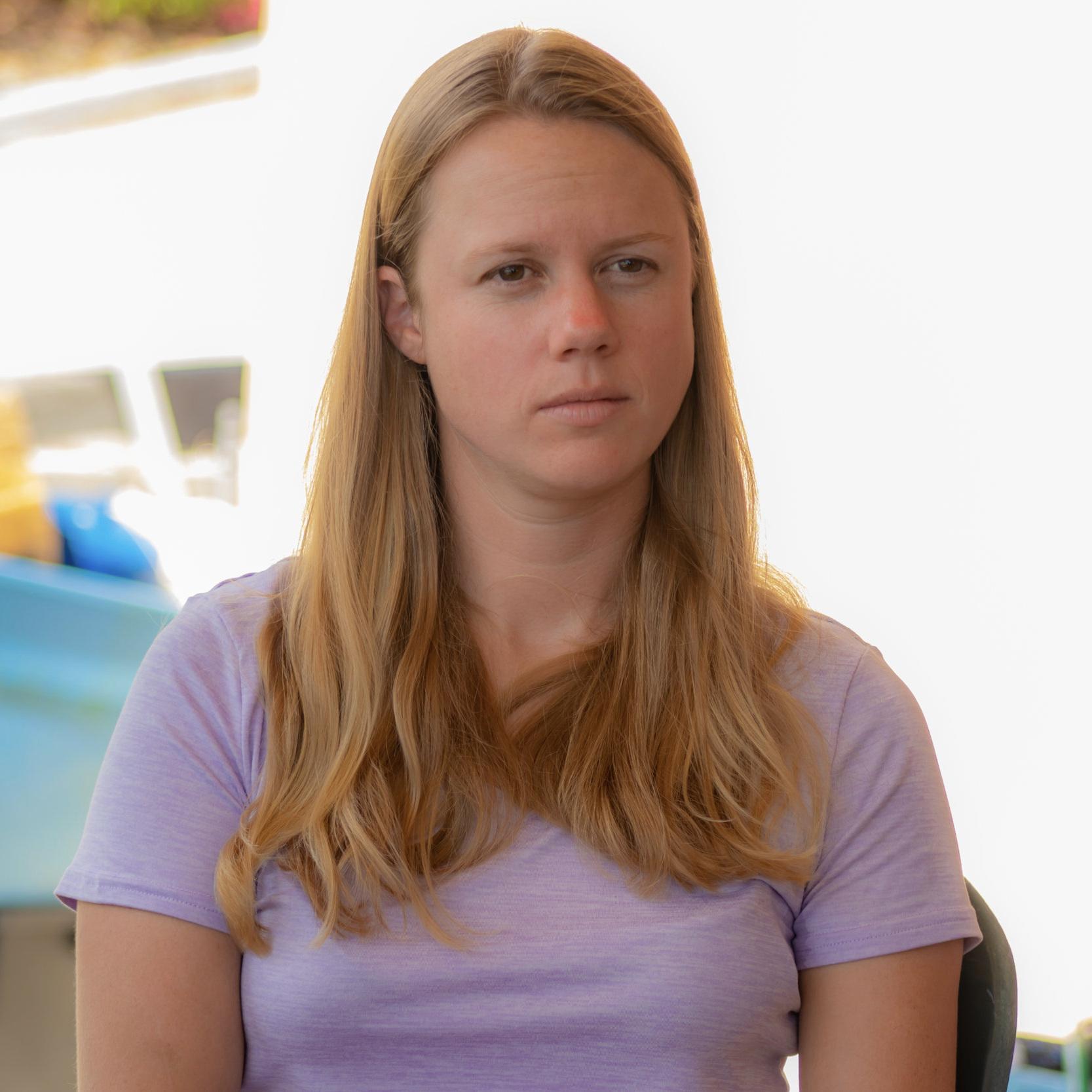 Sarah Heidmann, Research Analyst Photo by Joe Townsend