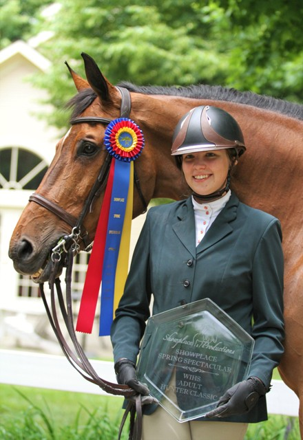 Kira Telford celebrated her birthday with wins with her hunters