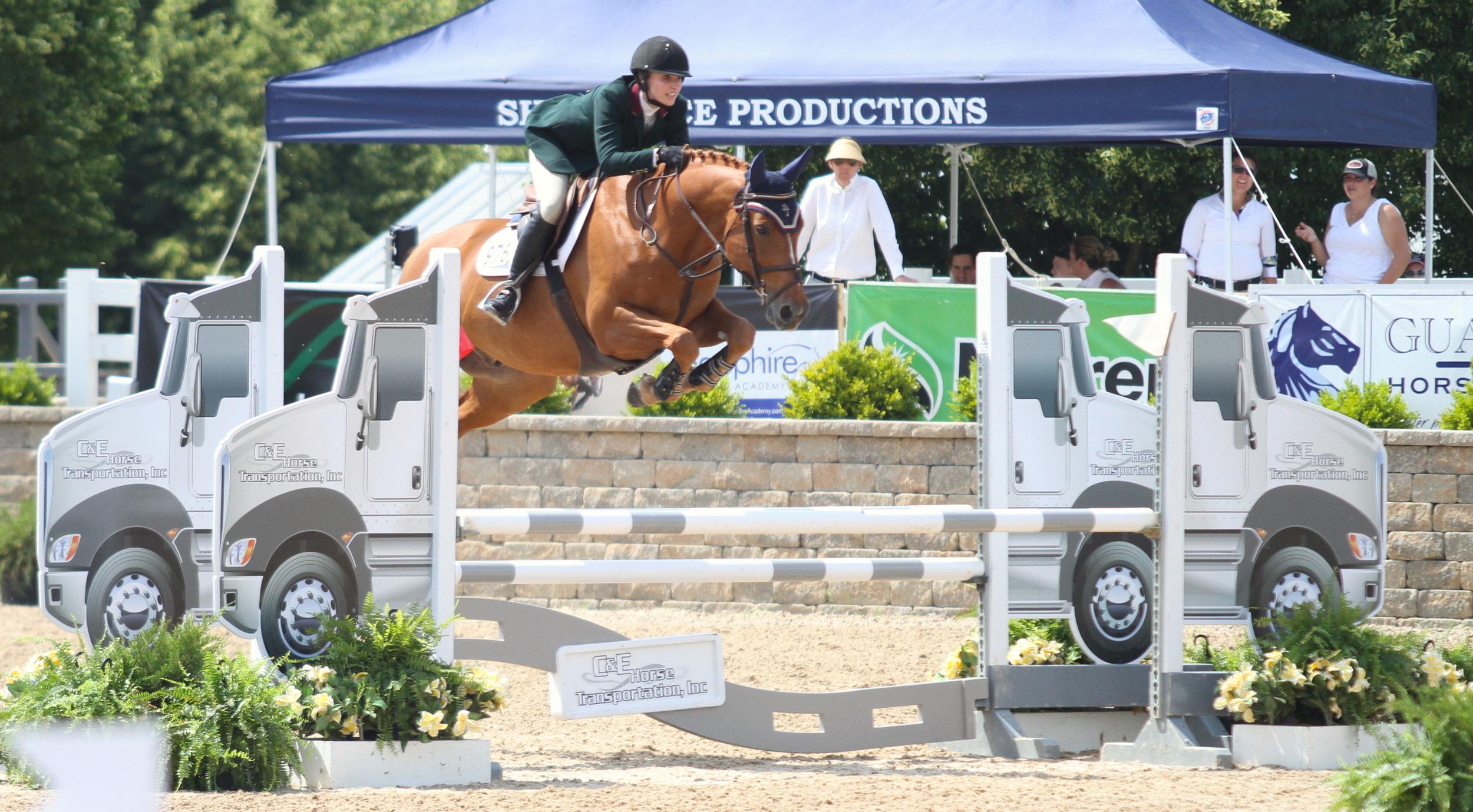$1,500 M & S Adult Jumper  Presented by Country Ridge  Rachel Boggus and Wiedam, owned by 18 Gauge LLC
