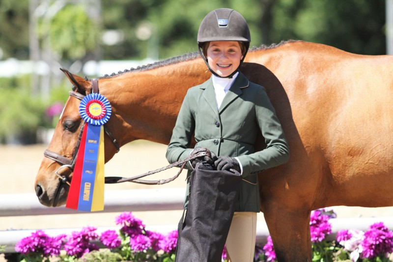 Magical Diamond and Saylor Shea   Medium Pony Hunter Champion   $1000 Pony Hunter Classic  Magical Diamond, owned by Strawberry Hill LLC and ridden by Saylor Shea scored the championship in the Medium Pony Hunter division and took the Pony Hunter Classic.