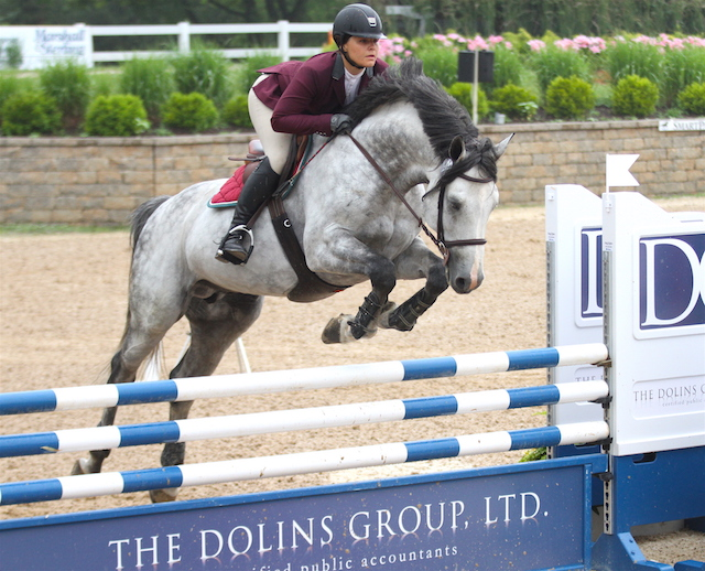 Taylor Fury and Carrasca Z won the class and were champions of the division. $1,000 Young Jumper 6 Year Old Championship, sponsored by HorseFlight