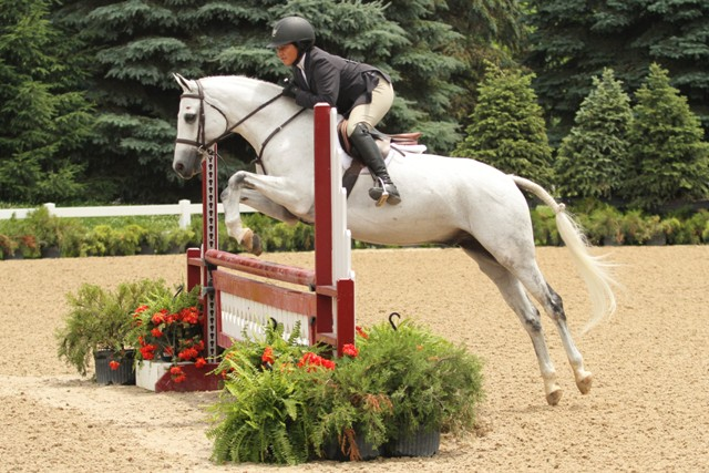Marshall & Sterling USEF Pony Medal  Marian Sykes and Blue James Blue, owned by Micaela Kennedy