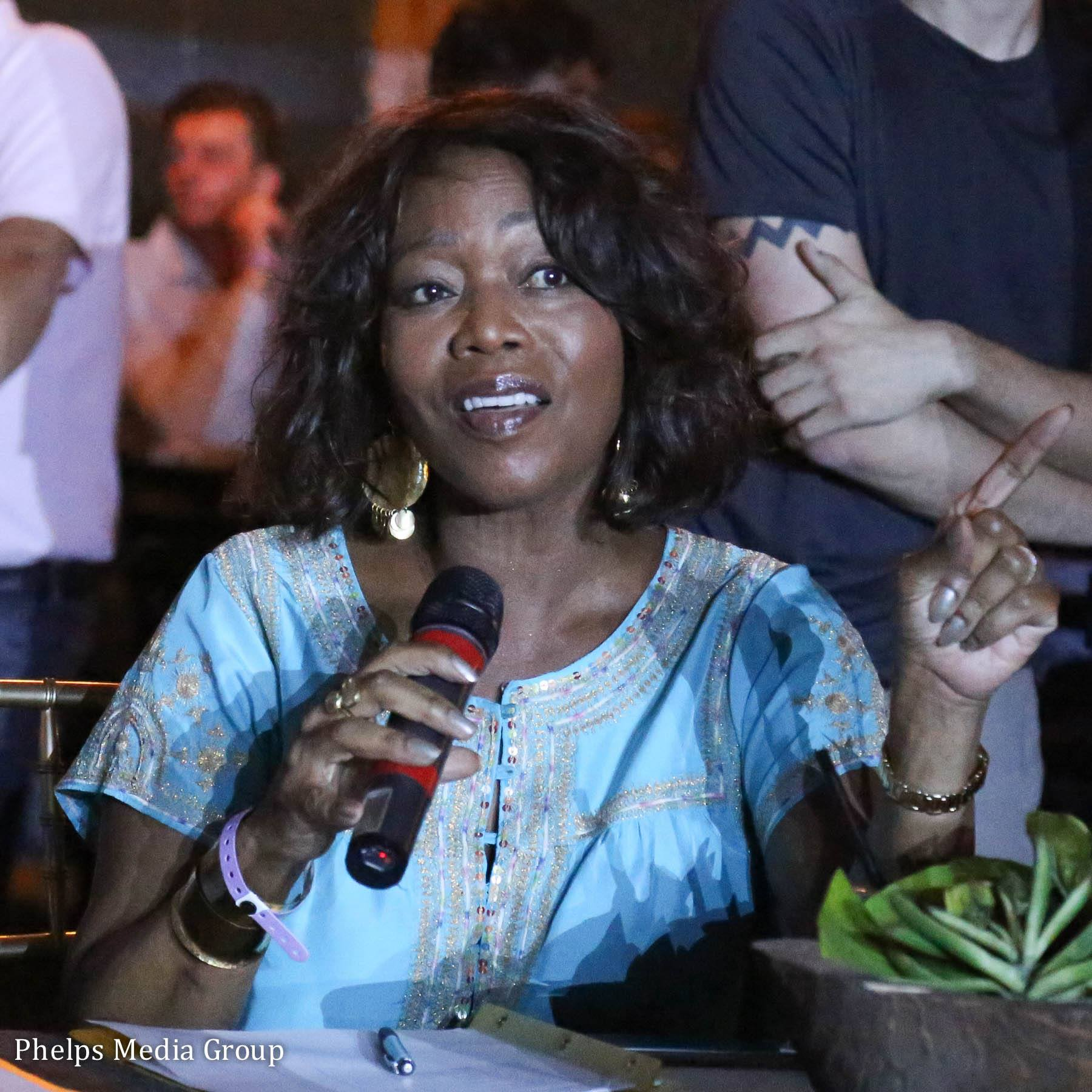 Star of stage and screen, four-time Emmy Award winner Alfre Woodard served as a celebrity judge in 2016. Photo by Phelps Media Group