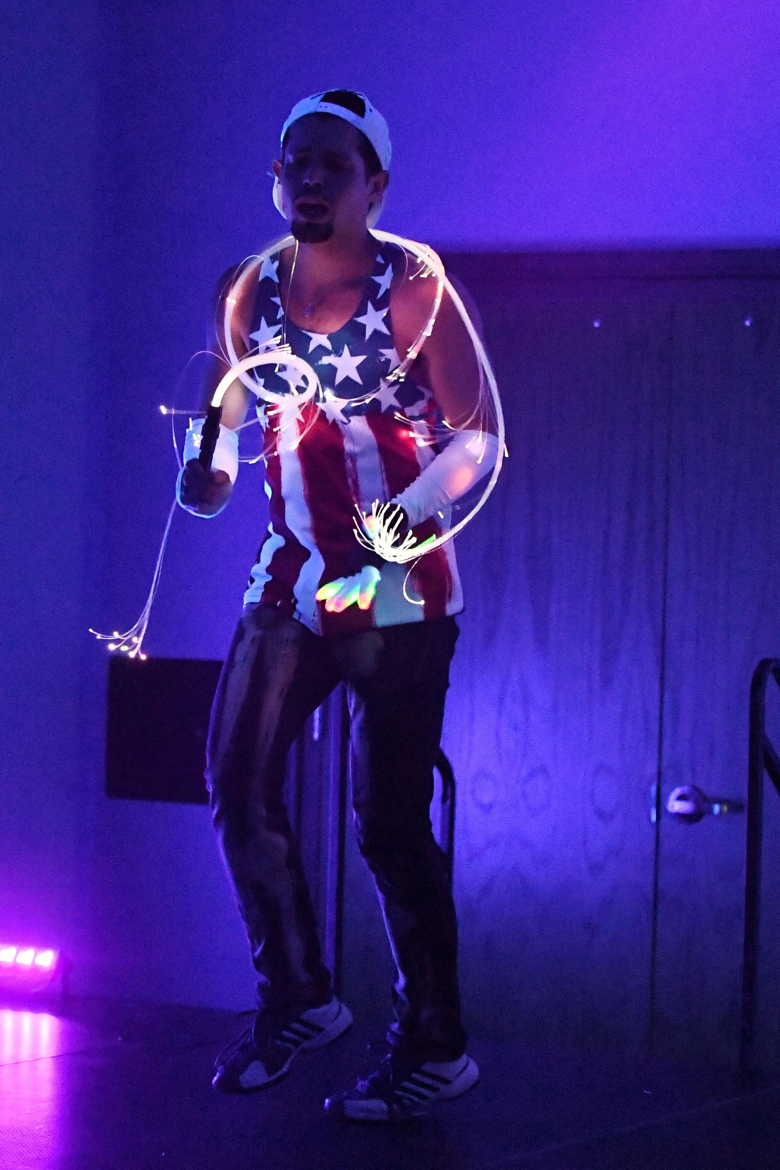 Performance Artist Robert Nichols during AEGT Week I