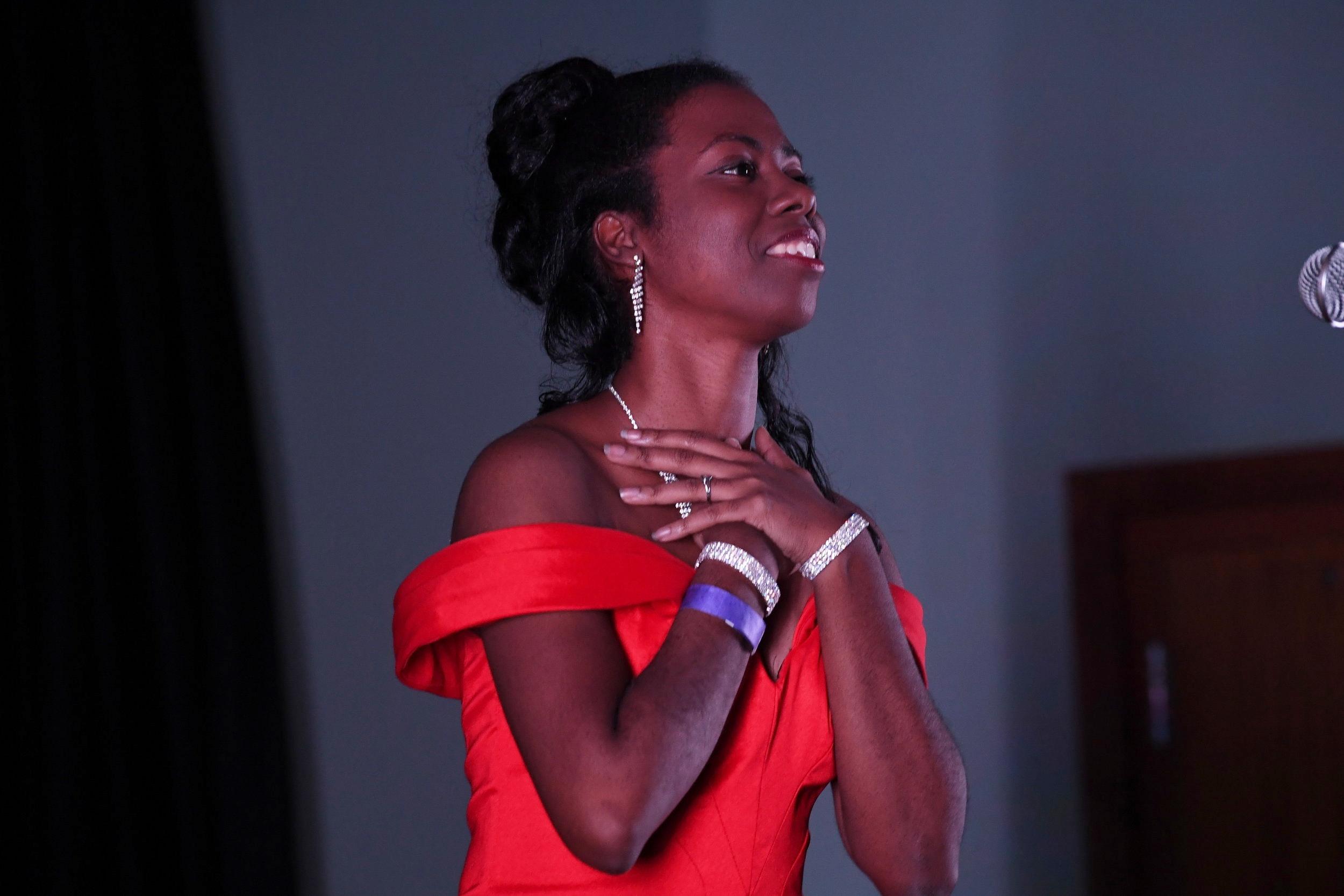 Kyaunnee Richardson. DDeRosa photo.