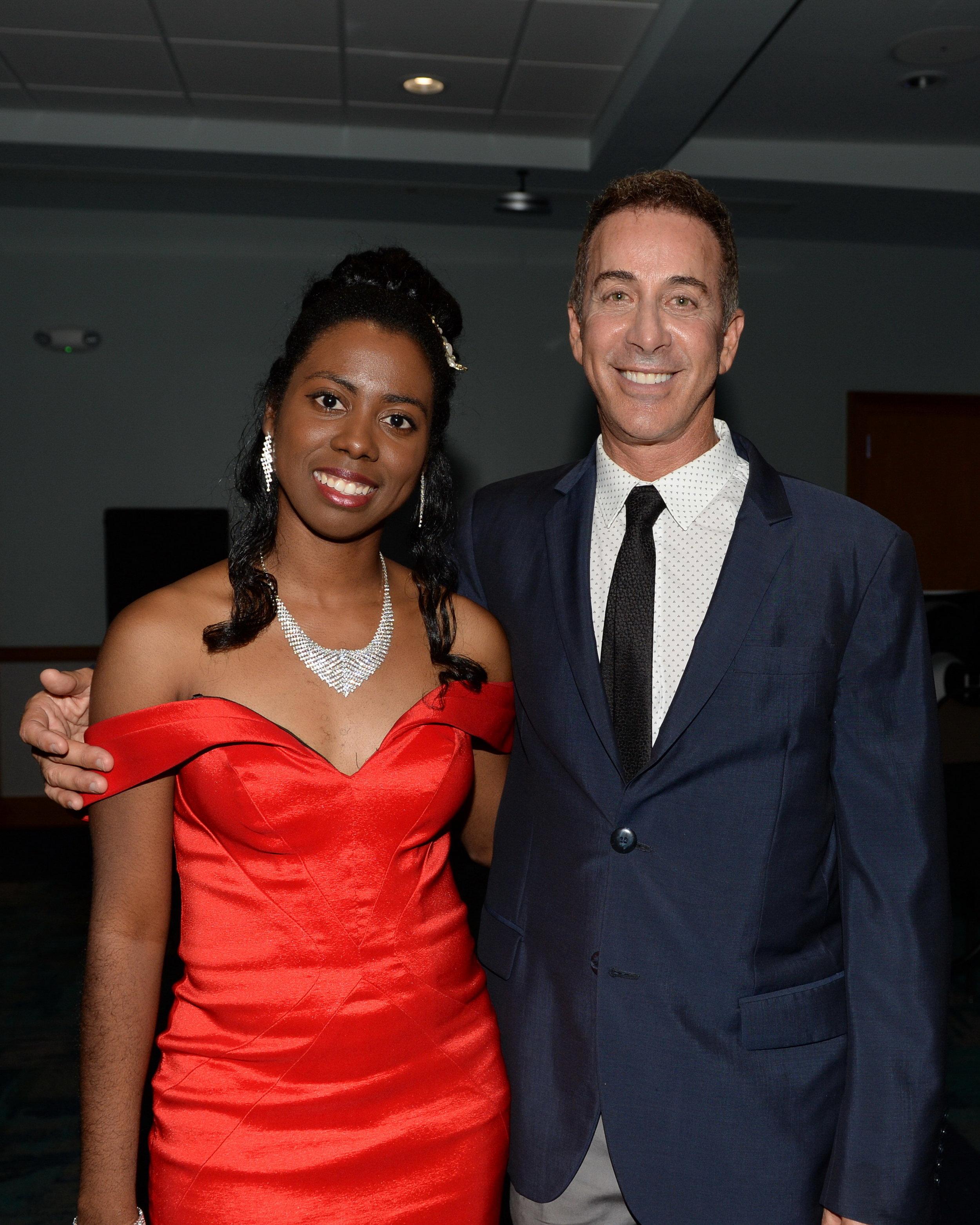 Kyaunnee Richardson and Robert Dover. DDeRosa photo.