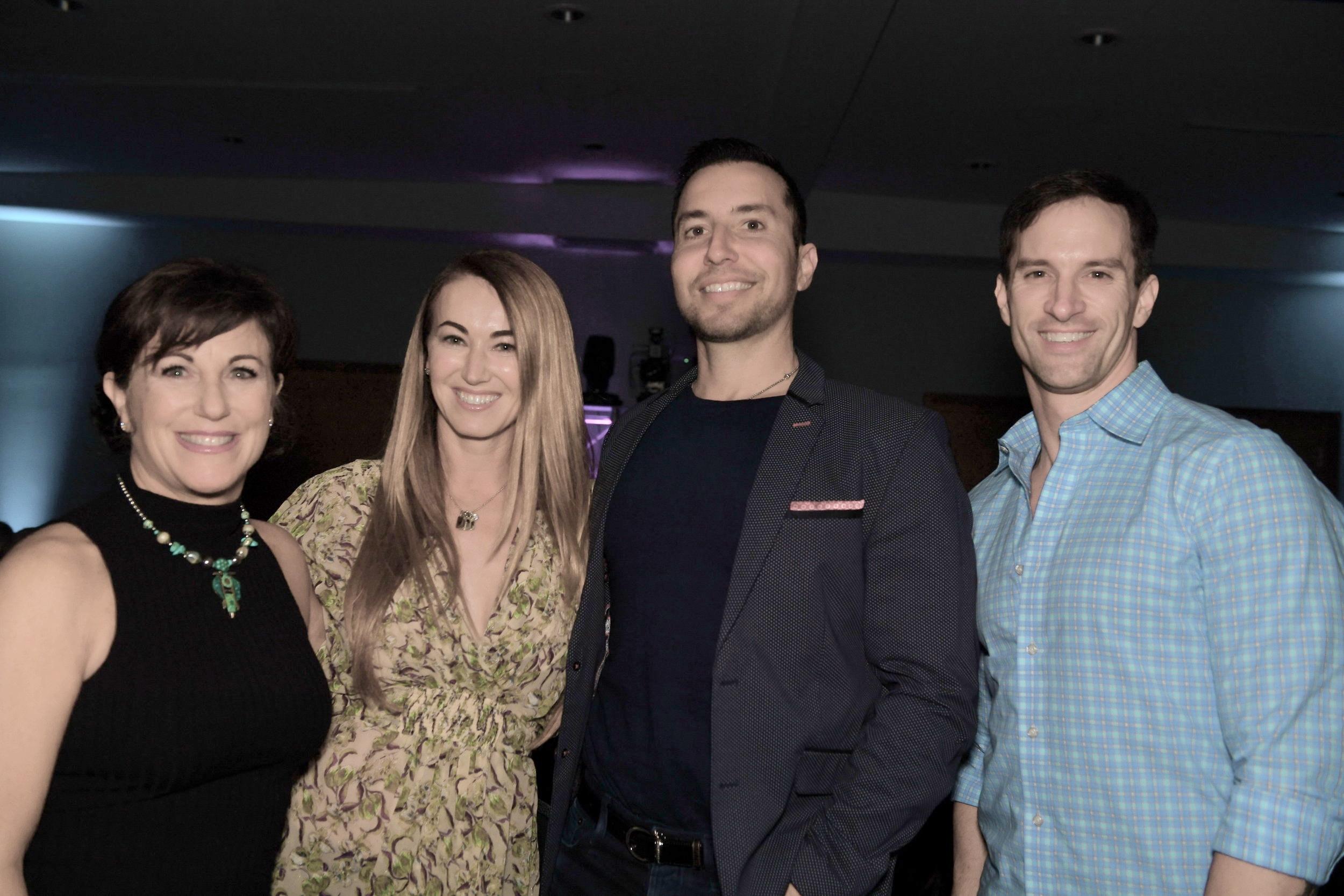 AEGT WeekIX judges Sherry Tautiva, P.j. Rizvi, Chris Desino and Ben Schultz. DDeRosa photo.