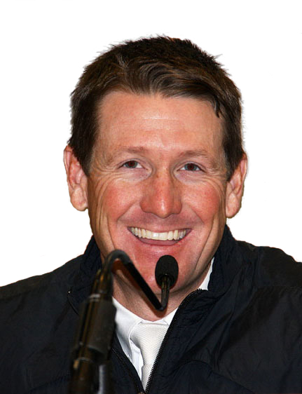 """""""He has a wonderful feel for the competition and an attention to detail that shows through in his work. I am always pleased when I see he is a course designer at a show I am attending.""""   — McLain Ward, two-time Olympic gold medalist and team silver medalist Rio Olympic Games and winner of the Longines FEI World Cup™ Final in Omaha. Photo by Kenneth Kraus"""