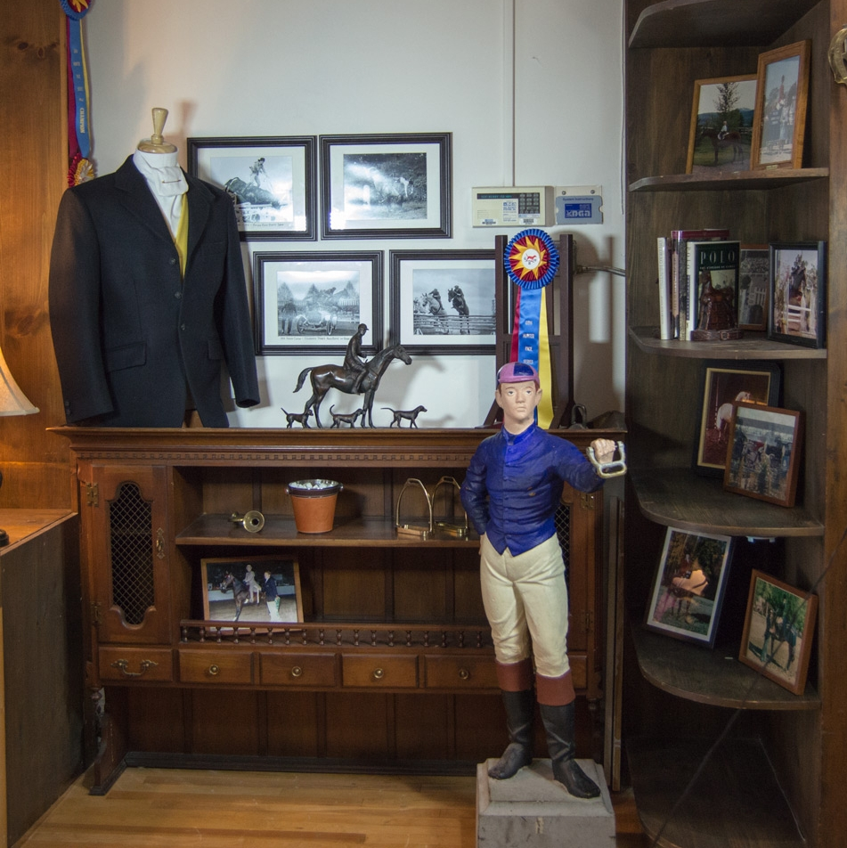 The shoppingexperience at Manhattan Saddlery combines history and a carefully selected assortment of modern equestrian clothing, equipment and gifts.