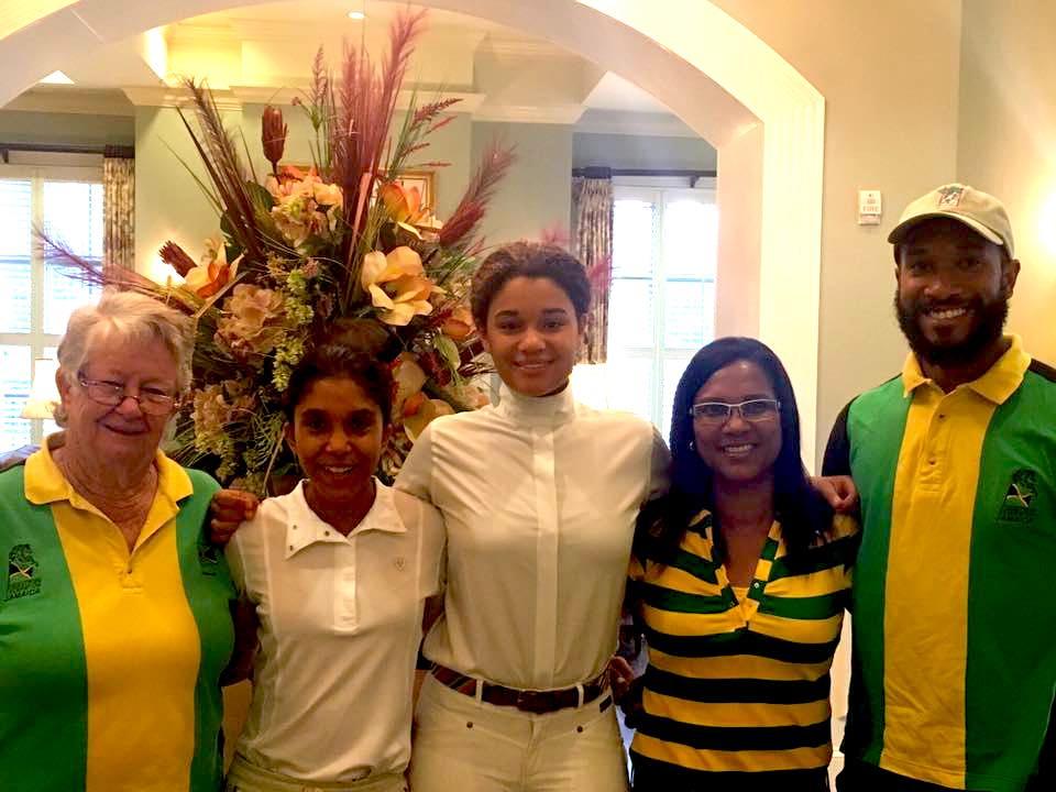 Team Jamaica showed their spirit. Photo courtesy of PAEC.