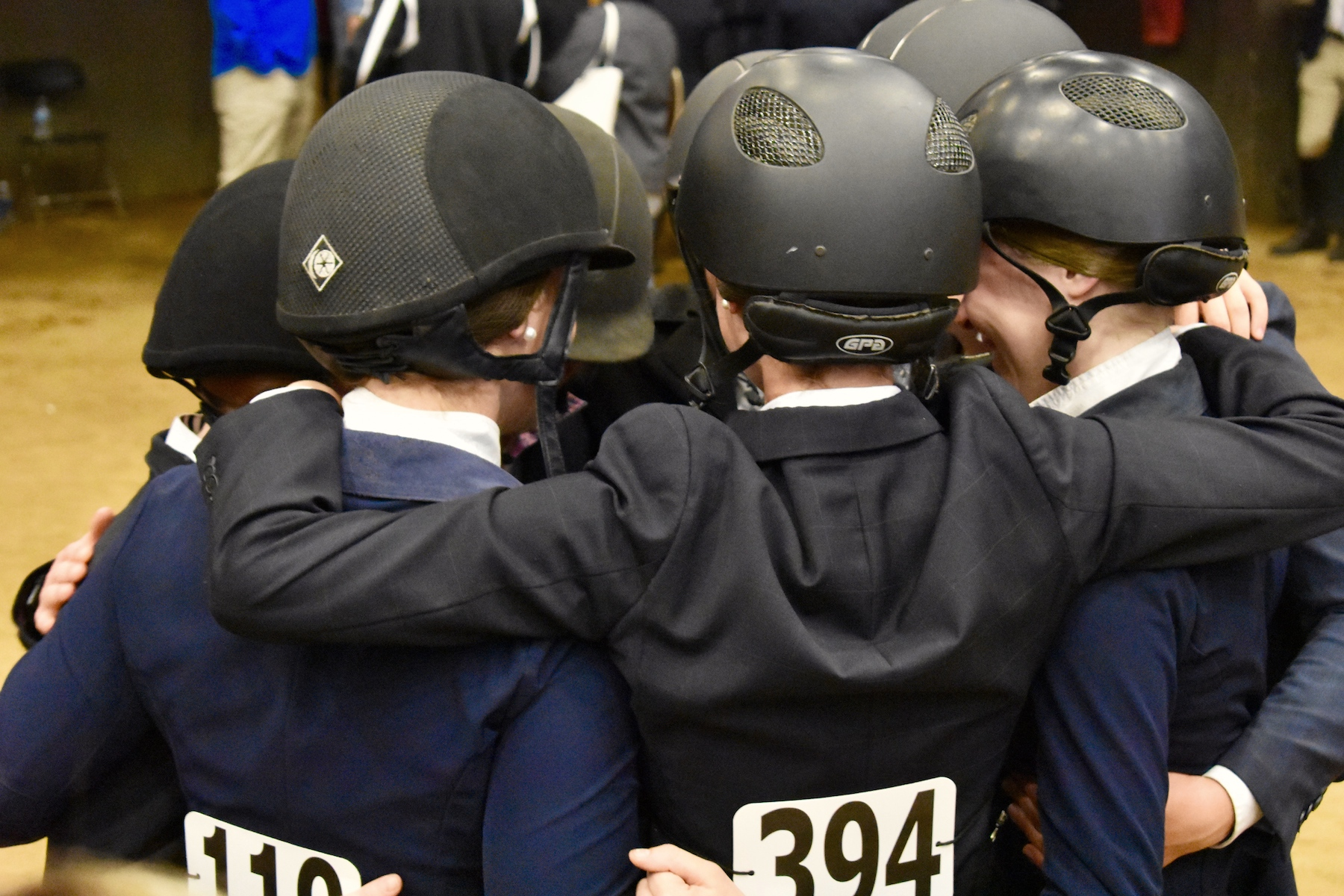 IEF scholarships help IHSA competitors with college expenses so they can enjoy the IHSA experience. Photo by Kelly Rhinelander