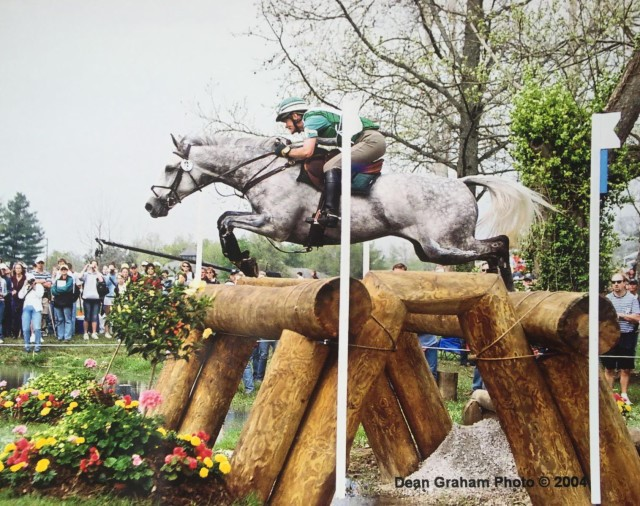 Kim Meier and Test Run had a top-10 finish at Kentucky Rolex Three Day Event in 2004.  Photo by Dean Graham