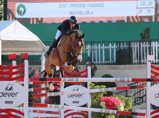 Freddie Vazquez and Bachelor 4 during WEF Week 7. Photo by SportFot